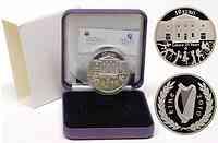Irland : 10 Euro 25 Jahre Gaisce/The President's Award inkl. Originaletui und Zertifikat 2010 PP