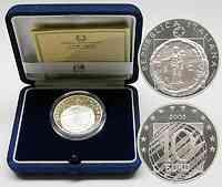 Italien : 10 Euro 60 Jahre Frieden inkl. Originaletui + Zertifikat  2005 PP
