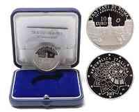 Italien : 10 Euro Römische Verträge inkl. Originaletui und Zertifikat  2007 PP