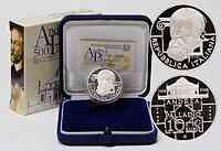 Italien : 10 Euro Andrea Palladio inkl. Originaletui und Zertifikat  2008 PP