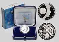 Italien : 10 Euro Jahr der Astronomie inkl. Originaletui und Zertifikat  2009 PP