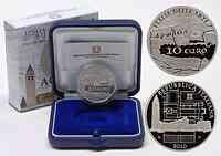 Italien : 10 Euro Aquileia inkl. Originaletui und Zertifikat  2010 PP 10 Euro Aquileia 2010 PP