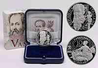 Italien : 10 Euro Giorgio Vasari  2011 PP