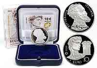 Italien : 10 Euro Michelangelo Buonarroti- Europäische Maler und Bildhauer  2012 PP