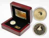 Niederlande : 10 Euro Königreichsmünze im Originalholzetui inkl. Zertifikat  2004 PP
