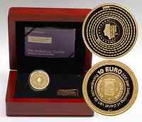 Niederlande : 10 Euro 200 Jahre Finanzverwaltung  2006 PP 10 Euro Niederlande 2006