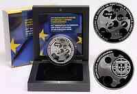 Portugal : 10 Euro 25 Jahre Portugal und Spanien in der EU  2011 PP