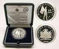 San Marino : 10 Euro Uniformiertes Militär  2005 PP