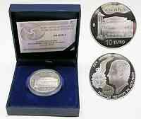 Spanien : 10 Euro 25. Prinz von Asturien-Preisverleihung  inkl. Originaletui und Zertifikat  2005 PP