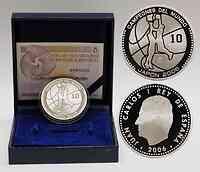 Spanien : 10 Euro Basketball WM inkl. Originaletui und Zertifikat  2006 PP 10 Euro Basketball Spanien 2006