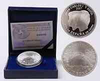 Spanien : 10 Euro Spanisches Jahr in China inkl. Originaletui und Zertifikat  2007 PP