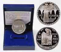 Spanien : 10 Euro Dona Jimena inkl. Originaletui und Zertifikat  2007 PP