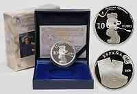 Spanien : 10 Euro Portrait Picasso inkl. Originaletui und Zertifikat  2009 PP