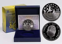 Spanien : 10 Euro 10 Jahre Euro Bargeld  2012 PP