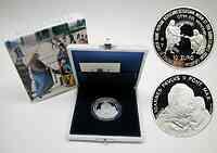Vatikan : 10 Euro 25. Pontifikatsjahr Johannes Paul II., inkl. Originaletui und Zertifikat (Verkauf nur zusammen mit 5 Euro 2003)  2003 PP