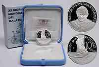 Vatikan : 10 Euro 20. Weltkrankentag  2012 PP