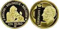 Belgien : 12,5 Euro Leopold I. inkl. Zertifikat und Originalkapsel  2006 PP 12 1/2 Euro Belgien 2006