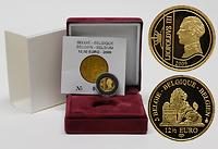 Belgien 12,5 Euro Belgisches Königshaus 2009 GOLD