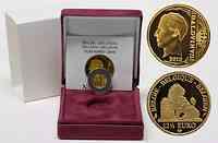 Belgien : 12,5 Euro König Boudewijn inkl. Originaletui und Zertifikat  2010 PP 12 1/2 Euro Belgien 2010