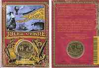 Frankreich : 1/4 Euro Jules Verne im Originalblister  2005 bfr