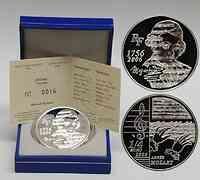 Frankreich : 1/4 Euro Mozart inkl. Originaletui und Zertifikat  2006 PP 1/4 Euro Mozart