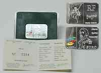 Frankreich : 1/4 Euro Degas im Originalblister inkl. Originalzertifikat  2007 Stgl.