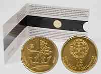 Portugal : 1/4 Euro König D.Dinis im Originalblister  2008 Stgl. 0,25 Euro Portugal 2008 Gold