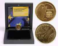Portugal : 1/4 Euro 25 Jahre Portugal und Spanien in der EU  2011 PP