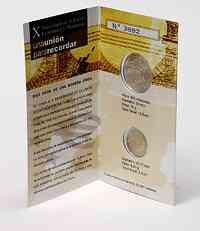 Spanien : 14 Euro 10 Jahre Euro im Originalblister  2009 Stgl.