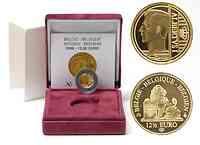 Belgien : 12,5 Euro Albert I. im Originaletui mit Zertifikat  2008 PP 12 1/2 Euro Belgien 2008