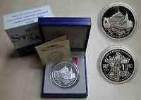 Frankreich : 1,5 Euro Mont Saint Michel inkl. Zertifikat und Originaletui  2002 PP