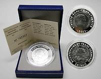 Frankreich : 1,5 Euro Franc Germinal inkl. Originaletui und Zertifikat  2003 PP