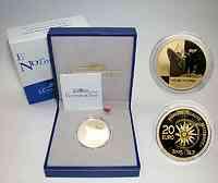 Frankreich : 20 Euro Normandie inkl. Originaletui und Zertifikat  2003 PP
