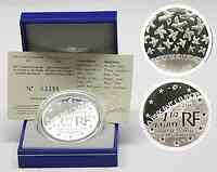Frankreich : 1,5 Euro 60 Jahre Ende des Zweiten Weltkrieges inkl. Originaletui und Zertifikat  2005 PP