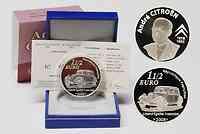 Frankreich : 1,5 Euro Citroen inkl. Originaletui und Zertifikat  2008 PP 1,5 Euro Citroen 2008