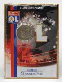 Frankreich : 1,5 Euro Olympique Lyonnais - Fußball im Originalblister  2009 Stgl.