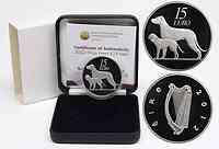 Irland : 15 Euro Hund / Hound  2012 PP