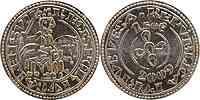 Portugal : 1,5 Euro Morabitino de D. Sancho  2009 Stgl.
