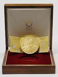 Österreich : 2000 Euro 20 Jahre Wiener Philharmoniker inkl. Originaletui und Zertifikat  2009 Stgl.