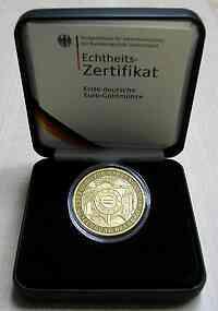 Deutschland : 200 Euro Auf die Einführung des Euro-Bargeldes , 1 Unze Feingold, Münzzeichen unserer Wahl  2002 Stgl.