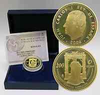 Spanien : 200 Euro Kaiser Karl V. inkl. Originaletui und Zertifikat  2006 PP 200 Euro Spanien 2006