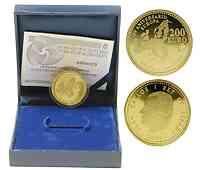 Spanien : 200 Euro Römische Verträge inkl. Originaletui und Zertifikat  2007 PP
