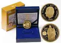 Spanien : 200 Euro Alfonso X. inkl. Originaletui und Zertifikat  2008 PP 200 Euro Spanien 2008