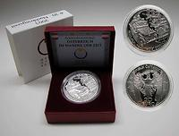 Österreich : 20 Euro Nachkriegszeit, inkl. Originaletui und Zertifikat  2003 PP