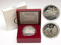 Österreich : 20 Euro Polarexpedition Tegetthoff inkl. Originaletui und Zertifikat  2005 PP