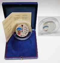 Frankreich : 20 Euro Gavroche in Originalkassette mit Zertifikat - jede Münze ist auf dem Rand nummeriert ! Gewicht : 5 Unzen - Auflage 500 Stück  2002 PP