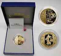 Frankreich : 20 Euro Die Säerin, inkl. Originaletui und Zertifikat  2003 PP