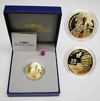 Frankreich 20 Euro Olympiade 2003 GOLD PP