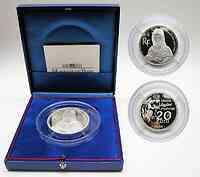 Frankreich : 20 Euro Mona Lisa, inkl. Originaletui und Zertifikat, Gewicht : 5 Unzen - Auflage 999 Stück  2003 PP