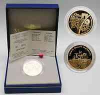 Frankreich : 20 Euro Finale , inkl. Originaletui und Zertifikat  2003 PP